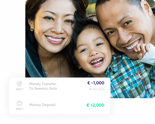 The easiest way to send money home