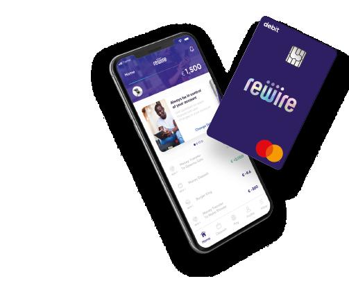Rewire App and Mastercard