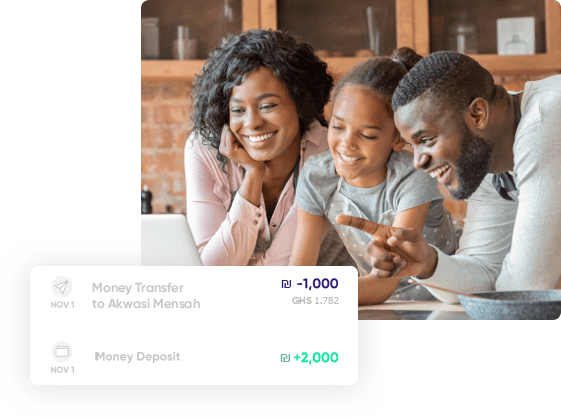 The easiest way to send money to Ghana